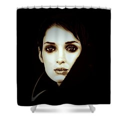 Vintage Winona Ryder Shower Curtain by Fred Larucci