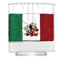 Violence In Mexico Shower Curtain