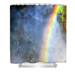 Violent Beauty Shower Curtain