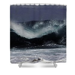 Violent Surf Shower Curtain