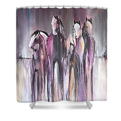 Violet Mirage 2 Shower Curtain