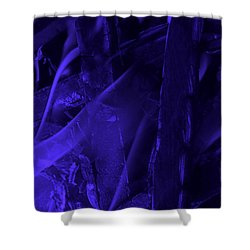 Violet Shine I Shower Curtain