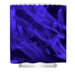 Violet Shine I I Shower Curtain