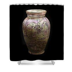 Violet Vase Shower Curtain