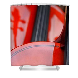 Violins Shower Curtain
