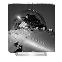 Viper Nose Shower Curtain