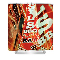Virgils Real Bbq New York City Shower Curtain