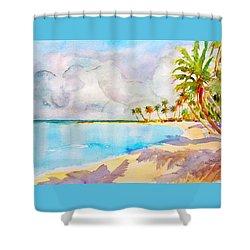 Virgin Clouds Shower Curtain