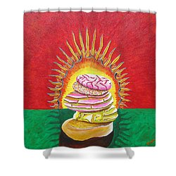 Virgin Mexican Sweet Bread Shower Curtain
