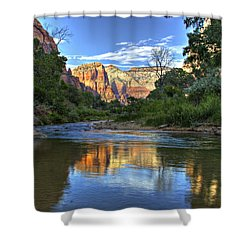 Virgin River Shower Curtain