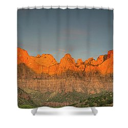 Virgin Sunset Shower Curtain