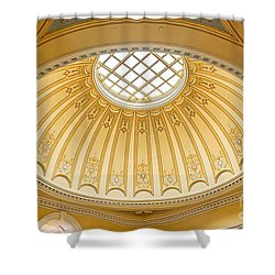 Virginia Capitol - Dome Profile Shower Curtain