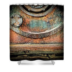 Virginia City Rust Shower Curtain