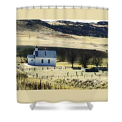 Virginia Dale Colorado Shower Curtain by Lenore Senior