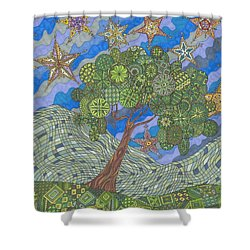 Virginia Quilts Shower Curtain