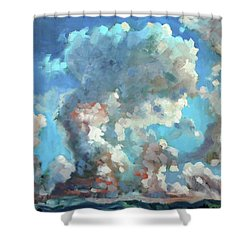 Virginia Sky Shower Curtain
