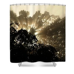 Virginia Sunrise Shower Curtain