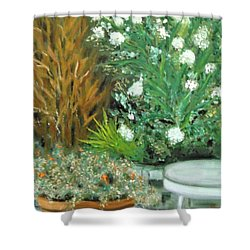 Virginia's Garden Shower Curtain