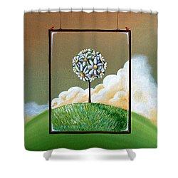 Virtue Shower Curtain by Cindy Thornton