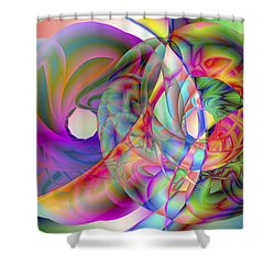 Vision 41 Shower Curtain
