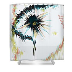 Vision II Shower Curtain