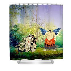 Vision Of Angel Shower Curtain