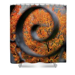 Vision Shower Curtain by Sheila Ping