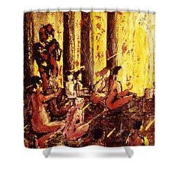 Visionaries Shower Curtain