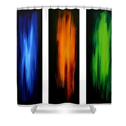 Visionary By Madart Shower Curtain by Megan Duncanson