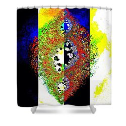 Visions Of Light And Dark Shower Curtain