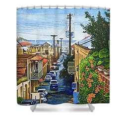 Visions Of Paradise Vii Shower Curtain