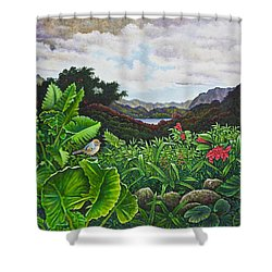 Visions Of Paradise Viii Shower Curtain