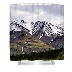 Visit Alaska Shower Curtain