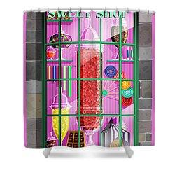 Visit Honeydukes Sweet Shop Shower Curtain