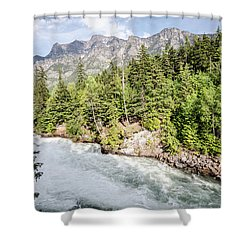 Visit Montana Shower Curtain
