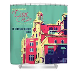 Visit The Don Cesar Shower Curtain