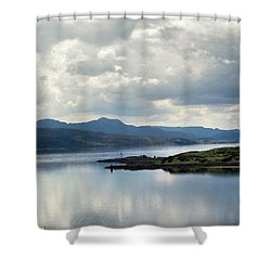 Peaceful Waters Shower Curtain