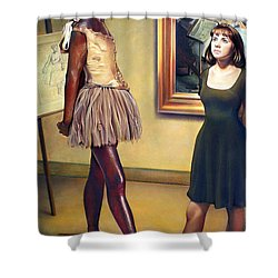 Visit To The Museum Shower Curtain by Patrick Anthony Pierson