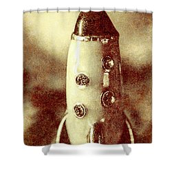 Visiting The Civilisation Of Ancient Mars  Shower Curtain