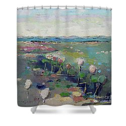 Visiting Town 1603 Shower Curtain