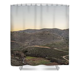 Vista De Moros Shower Curtain