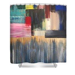 Vital Spark Shower Curtain