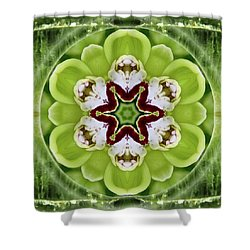 Vitality Of Love Shower Curtain