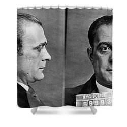 Vito Genovese (1897-1969) Shower Curtain by Granger