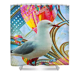 Shower Curtain featuring the photograph Vivid As A Dream by Chris Armytage