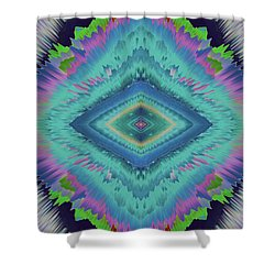 Shower Curtain featuring the photograph Exponential Flare 2 by Colleen Taylor