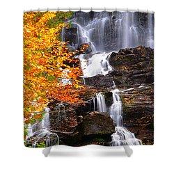Vivid Falls Shower Curtain