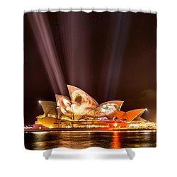 Vivid Opera House Shower Curtain