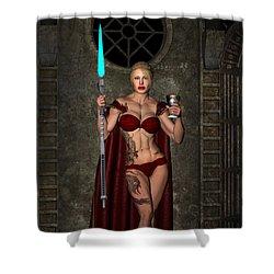 Vixen Warrior Series 01 Shower Curtain