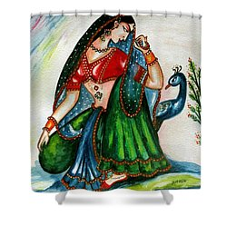Viyog Shower Curtain by Harsh Malik